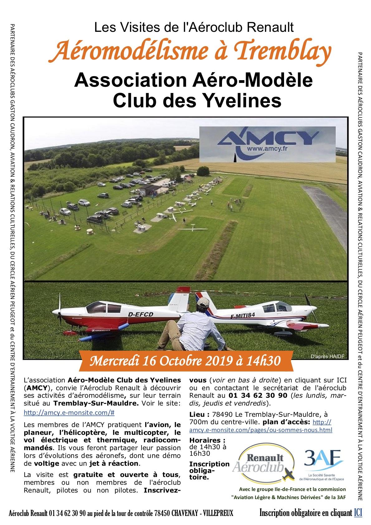 Visite acr 3af amcy 16 octobre 2019